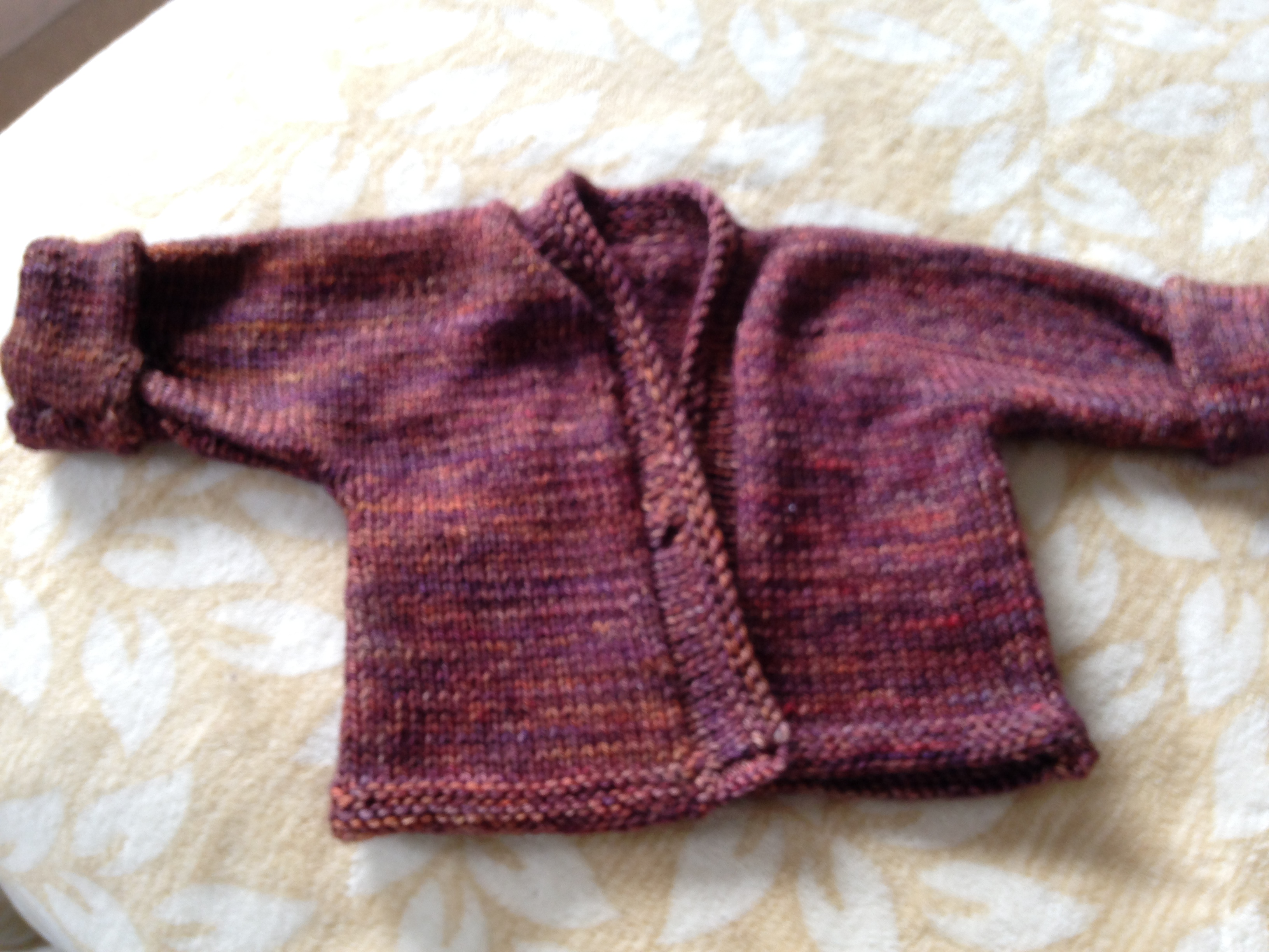 Knitting Pattern For One Piece Cardigan : Knit-Picking & Knitting CROOKED NEEDLES ~ Jo Doran